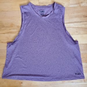 3/$15 PINK Victoria's Secret purple top!
